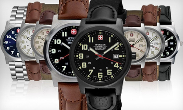 featured swiss watches victorinox army