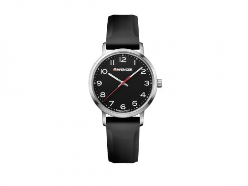 Wenger Avenue Watch Black Face by Wenger Watches By Victorinox