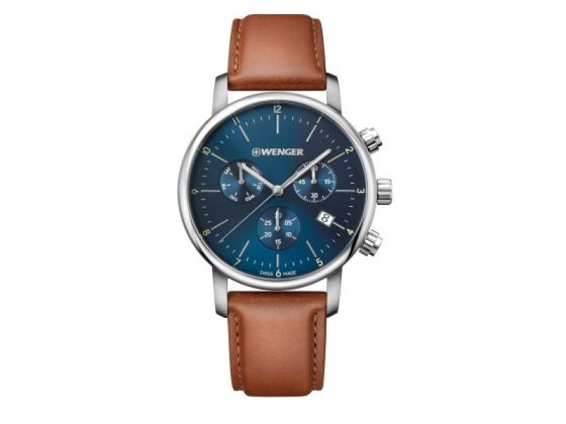 Wenger Urban Classic Chrono Watch  by Wenger Watches By Victorinox