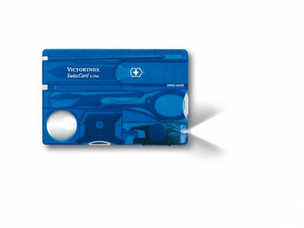 Swiss Card Lite in Blue by Victorinox Swiss Army Knives